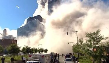Sensitive images: almost 17 years for the attack on the twin towers became a new video