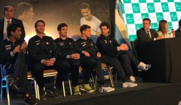 So will be played between Argentina and Colombia Davis Cup series