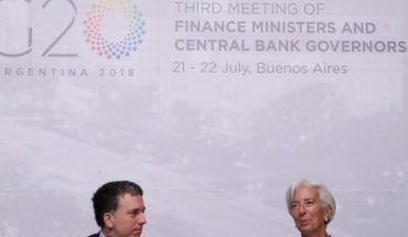 The IMF mission is in Buenos Aires.