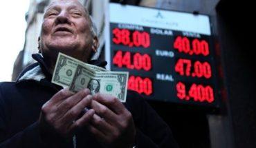 The dollar returned to break the barrier of $40
