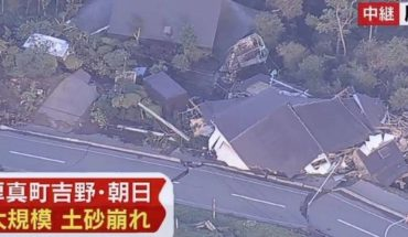 There was an earthquake of magnitude 6.6 degrees in Japan