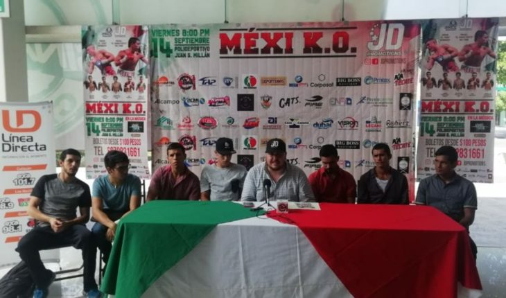 They declare themselves ready for the Viva Mexi K.O. function