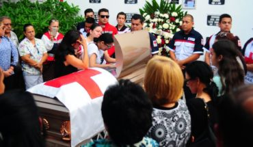 They say goodbye with honors to former Commander of Red Cross