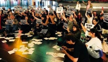 Trabajadores de Télam ingresaron al CCK reclamando una reunión con Lombardi