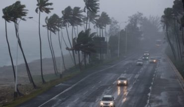 Tropical storm Olivia let winds and storms in Mexico