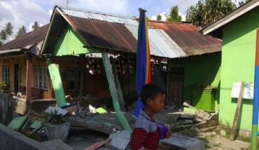 Un terremoto de 7,5 sacudió a Indonesia