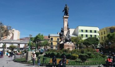 With wakefulness and giant screens will expect in La Paz the ruling of the Hague