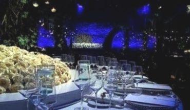 ¡Una boda así, ni Obama...!