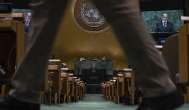 ¿Dónde están las líneas rojas? (73º período de sesiones de la Asamblea General de Naciones Unidas. Foto: UN Photo/Cia Pak). Blog Elcano