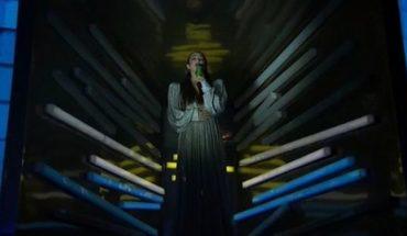 Ángela Torres emocionó cantando el himno en la inauguración de los Juegos Olímpicos de la Juventud