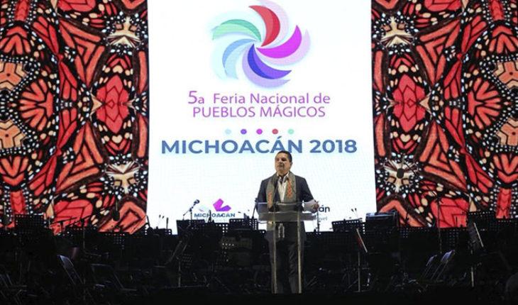 """""""¿Por qué no se callan?"""", Silvano ante rechifla en inauguración de la Feria Nacional de Pueblos Mágicos (Video)"""