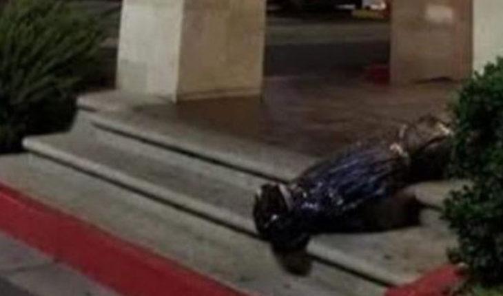 """Adorno"" de Halloween en restaurante de Tijuana causa indignación en redes"