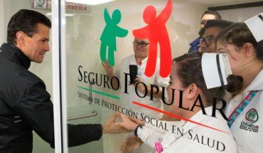 5 estados, con manejo irregular de más de 3 mil mdp del Seguro Popular