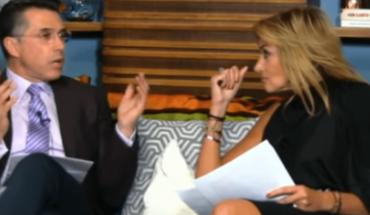 Adela Micha se burla de Sergio Mayer en su propia cara