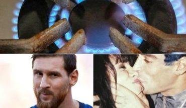 Amparo por aumento del gas, gesto de Messi, estuvo paralítico y compite, celos de El Potro a Marixa y mucho más...