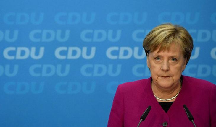Angela Merkel dejará de ser canciller de Alemania en 2021
