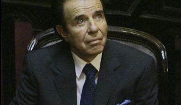 Argentina: corte confirmó condena para Carlos Menem