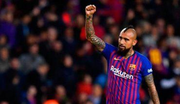 Arturo Vidal estará a prueba con el Barcelona