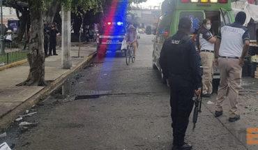 Asesinan a balazos a comerciante del Mercado Hidalgo en Zamora, Michoacán; su hijo queda herido