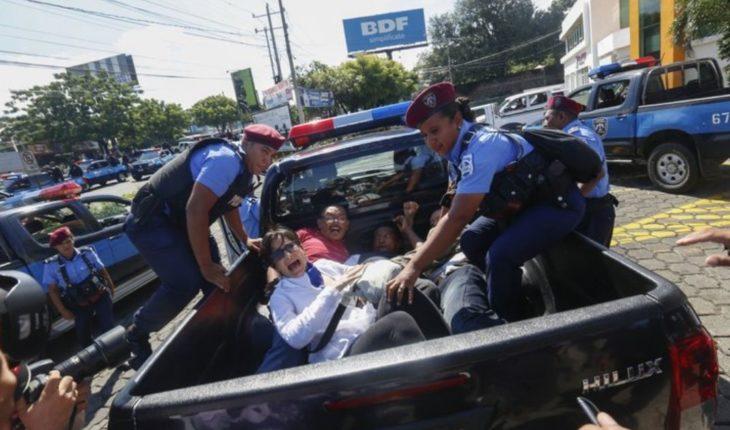Autoridades detienen a activistas en Nicaragua