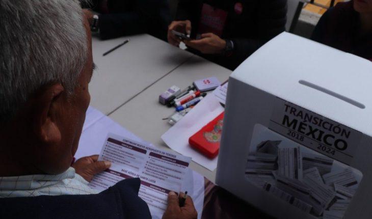 Bajacalifornianos acuden a votar en Consulta sobre el NAIM