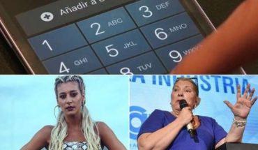 Bloquearan celulares no registrados, condición de Carrió a Macri, Sol Pérez le respondió a Longobardi y Lanata y mucho más...