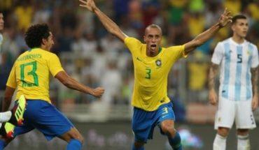Brasil le ganó a Argentina y se quedó con el clásico