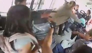 Captan en video momento de un asalto en Tecámac, Estado de México