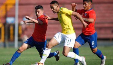 Chile empata 2-2 ante Brasil en el Santa Laura