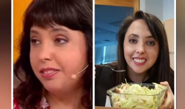 Chiqui Aguayo habló de la dieta que la hizo bajar 6 kilos en 8 semanas