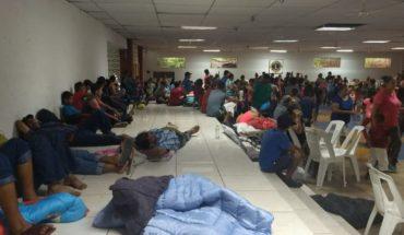Cientos de personas acuden a los albergues de El Rosario