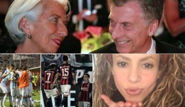 Claves del acuerdo con el FMI, otra nena asesinada, la fecha 10 de la Superliga, Shakira recordó a Cerati y mucho más...