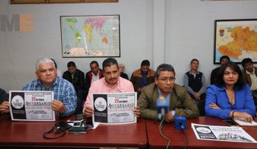 Con marcha y protestas, Frente Cívico Social celebrará cuarto aniversario