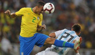 Con un gol en los descuentos Brasil venció 1-0 a Argentina