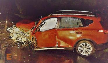 Conductor muere al chocar contra un árbol en Uruapan, Michoacán