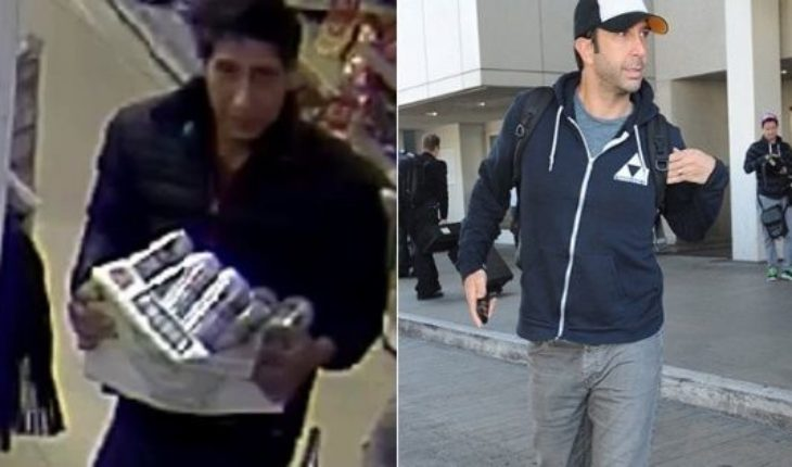 """Confundieron a un ladrón con David Schwimmer, quien hacía de Ross en """"Friends"""", y él tuvo que salir a aclarar"""