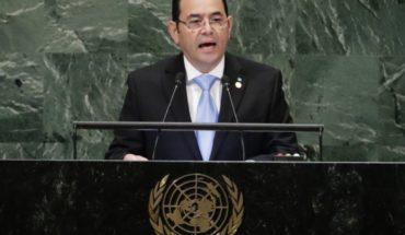 Congreso guatemalteco mantiene inmunidad del presidente
