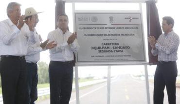 Control y disminución del crimen organizado reavivó la inversión en Michoacán, afirma Peña Nieto