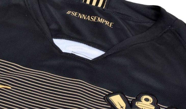 Corinthians homenajea a Ayrton Senna con camiseta especial