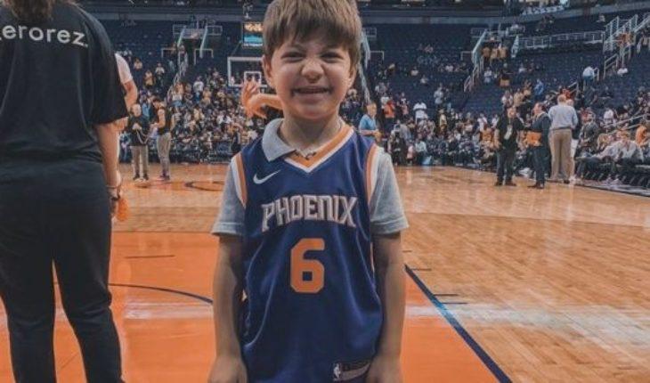 Cumplía 6 años, nadie fue a su fiesta y un equipo de la NBA le armó una tarde inolvidable