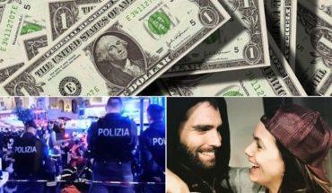 Dólar avanza, hinchas heridos en Roma, Natalie Pérez y Nico Furtado al cine, cumpleaños de Charly García y mucho más...