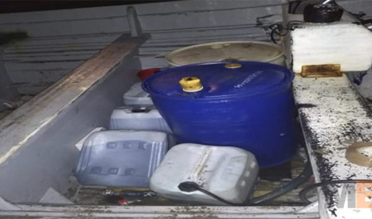 Decomisan combustible ilícito en Lázaro Cárdenas, Michoacán
