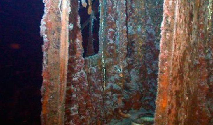 Descubren restos de embarcación naufragada del siglo XVI