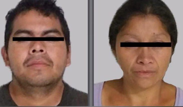 Detienen a pareja relacionada con al menos 10 feminicidios en el Edomex