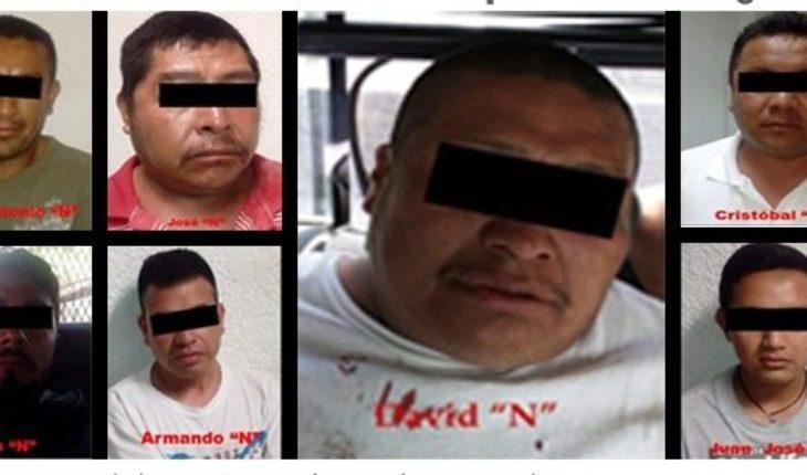 Detienen a siete por robo a camioneta de Bansefi; tres son policías