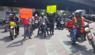 Deudas fantasma detonan protestas de mensajeros del servicio Rappi