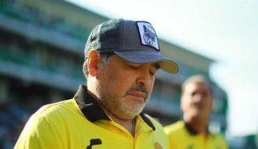 Diego Maradona dejará a Dorados para ser operado