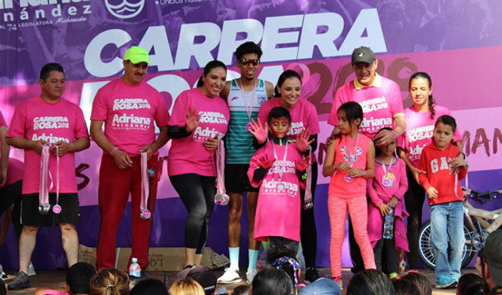 Diputada Adriana Hernández llama a no bajar la guardia en la lucha contra el cáncer