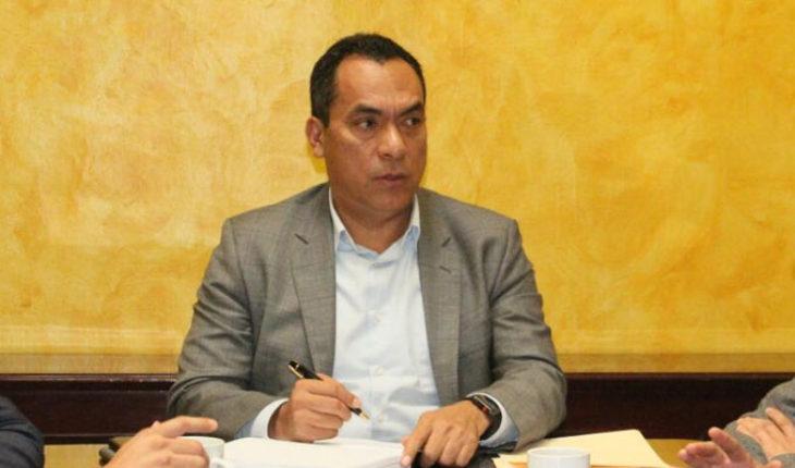 Diputado del PRD Adrián López asiste a reunión de JUCOPO