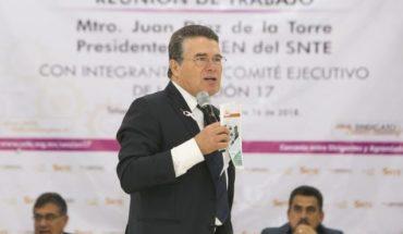 Docentes del SNTE presentaron más de 20 mil propuestas al próximo gobierno para mejorar educación